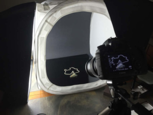 Canon 5D setup for jewelry